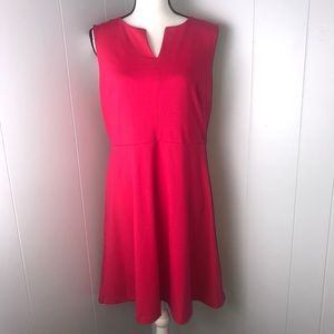 The limited hot pink dress